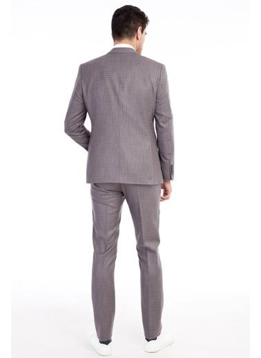 Kiğılı Takım Elbise Vizon